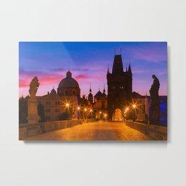 PRAGUE 10 Metal Print