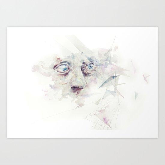 living in delay Art Print