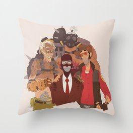 what spy hates the most Throw Pillow