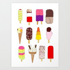 Lolly La La Art Print