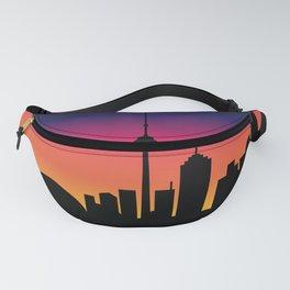 Toronto Sunset Fanny Pack