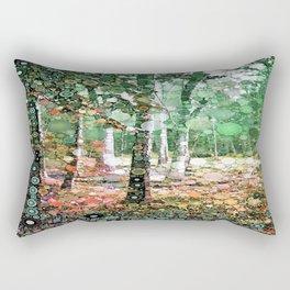 :: Walk in the Woods :: Rectangular Pillow