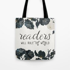 Readers Rule The World Tote Bag
