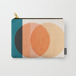 Abstraction_NEW_SUNSET_OCEAN_WAVE_POP_ART_Minimalism_0022D Carry-All Pouch
