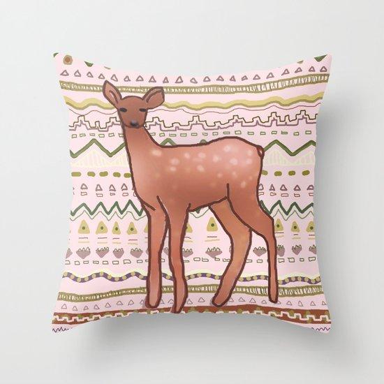 I Deer You to Dream Throw Pillow