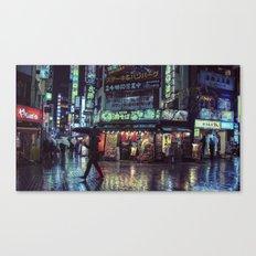 T0:KY:00 / Kabukichō Nights / Blade Runner Origins Canvas Print