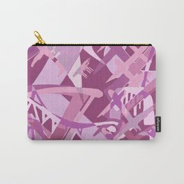 Psychedelic Pink Carry-All Pouch