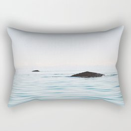 Whale bliss Rectangular Pillow