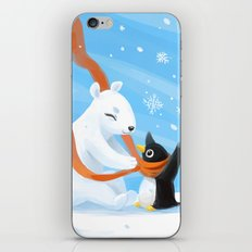 Uncle Bear iPhone & iPod Skin