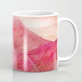 Lines in the mountains XXIII Coffee Mug