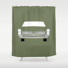 Pontiac GTO ( 1967 ) Shower Curtain