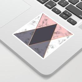 Marble Geometry 018 Sticker