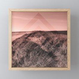 Tales of Wonder, Chevron Pattern, Sand Dunes Framed Mini Art Print