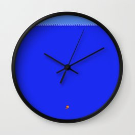 Super Mariona Trench Wall Clock