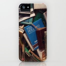 matchbook collection iPhone Case