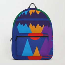 Mountain Scene #7 Backpack