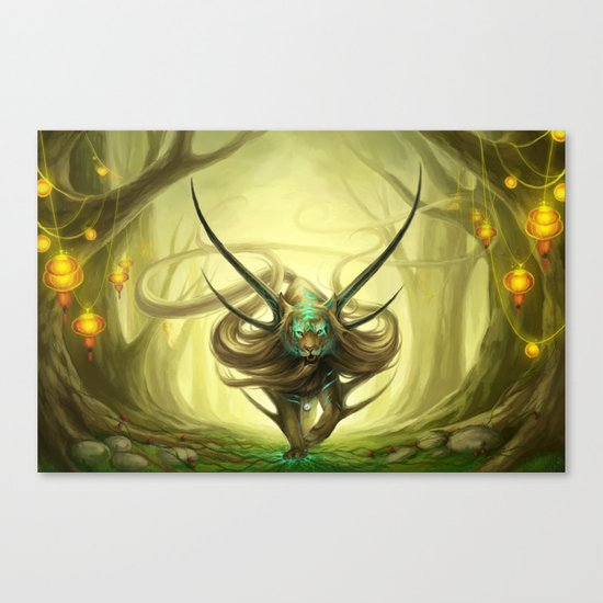 """God of Evanescence"" Canvas Print"