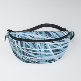 Blue Sea Grass Fanny Pack