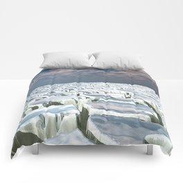 Fragmented Landscape Comforters