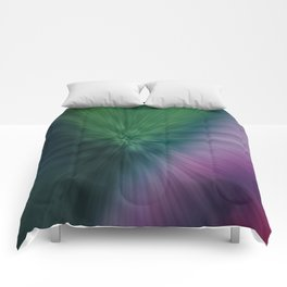 Calamity of Clashing Colors Comforters