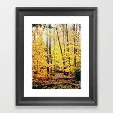 The Glow Framed Art Print