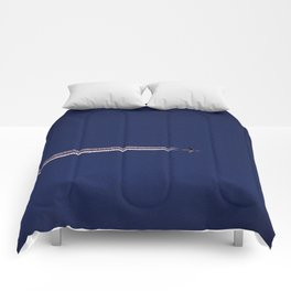 Jet and Contrail Comforters