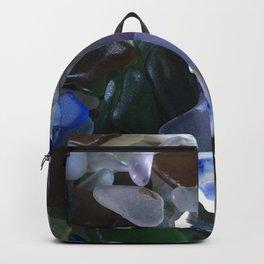 Sea Glass Assortment 4 Backpack
