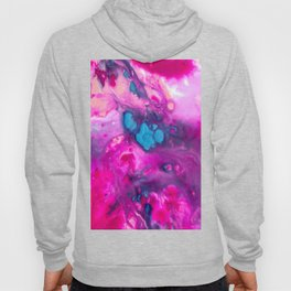 Pink And Purple Marble Marble Hoody