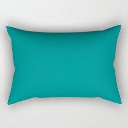 Tropical Green Rectangular Pillow