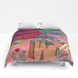 Io's Jovian Dawn Comforters