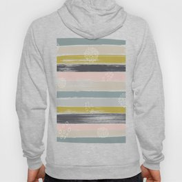 Fragments, Brushstrokes and Circles Hoody