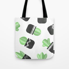 Potted Cactus and Succulents Tote Bag