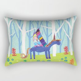 In the Land of Unicorns Rectangular Pillow