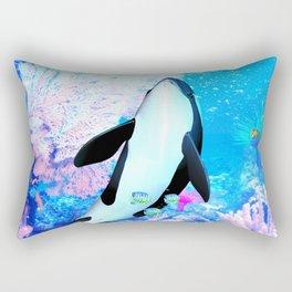 Orca 3 Rectangular Pillow