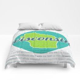 Words of Wisconsin Comforters
