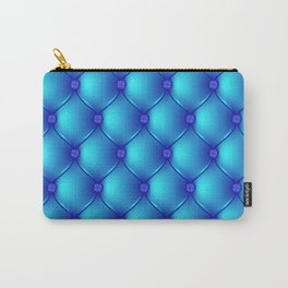 Blue Upholstery Pattern Carry-All Pouch