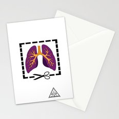 Cut My Lung Stationery Cards