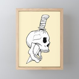 A Bitter End Framed Mini Art Print