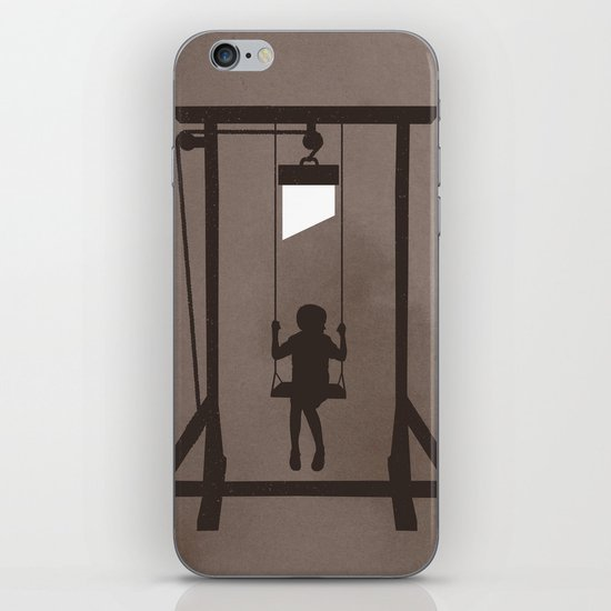 Swing Blade iPhone & iPod Skin