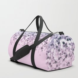 Sparkly Unicorn Blue Lilac & Pink Ombre Duffle Bag