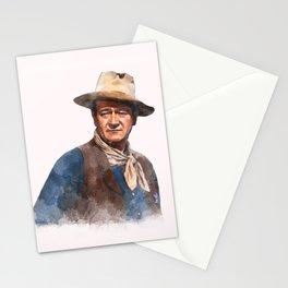 John Wayne - The Duke - Watercolor Stationery Cards