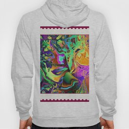 A STAMP FOR MARDI GRAS Hoody