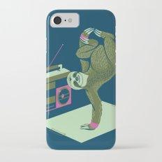 Breakdancing Sloth Slim Case iPhone 7