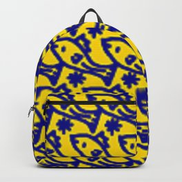 'Fun Fish' Positive Vibe Designs Backpack