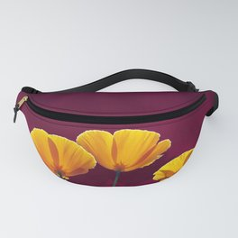 Three Poppies Fanny Pack