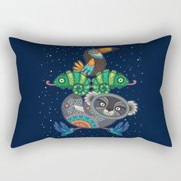 Animal Totem 6 Rectangular Pillow