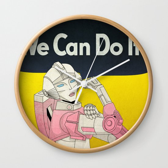 we can do it. Wall Clock