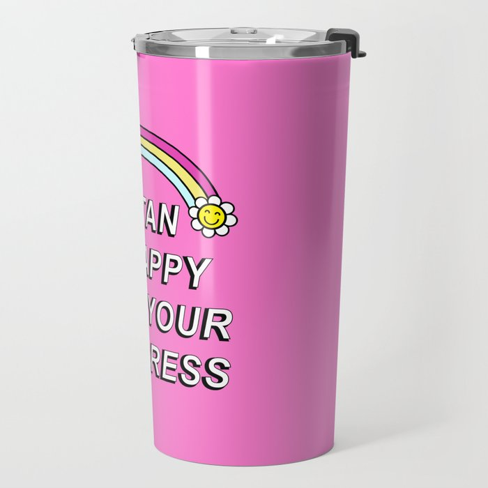 Satan is Happy with your Progress Travel Mug