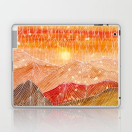 Lines in the mountains XXIV Laptop & iPad Skin