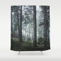 Path Vibes Shower Curtain